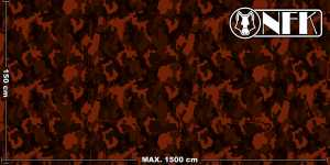 Onfk camouflage country 019 3 dark mahogany