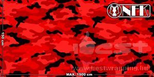 Onfk camouflage rounded 001 3 dark red