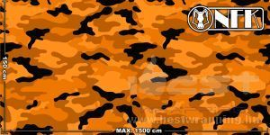 Onfk camouflage rounded 003 3 dark orange light